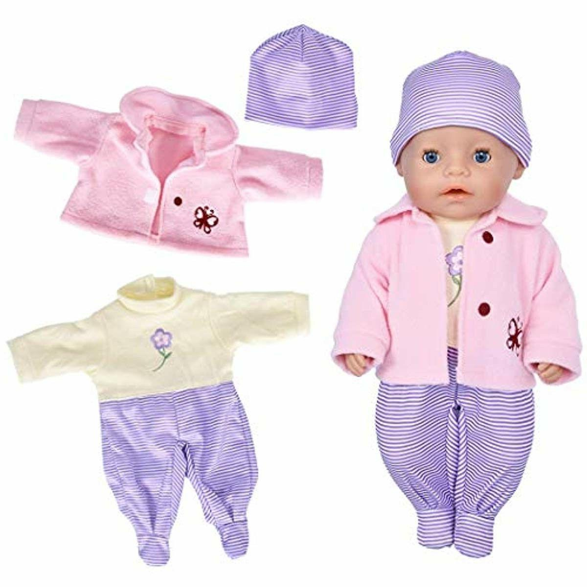 7 with and for 43cm Baby Dolls/ Bitty