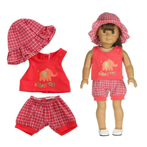 7 Doll Clothes Reborn Toy Clothing Girl