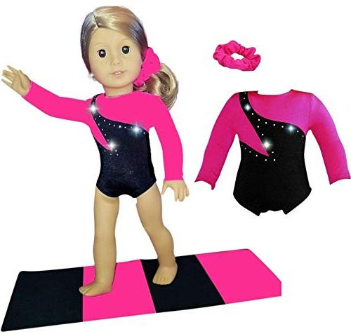 Doll Connections VALENTINES DAY Gymnastics Leotard Outfit Co
