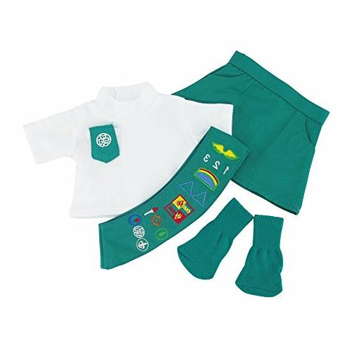 Doll to Junior Scout SOCKS | Dolls Clothes Fits American Girl