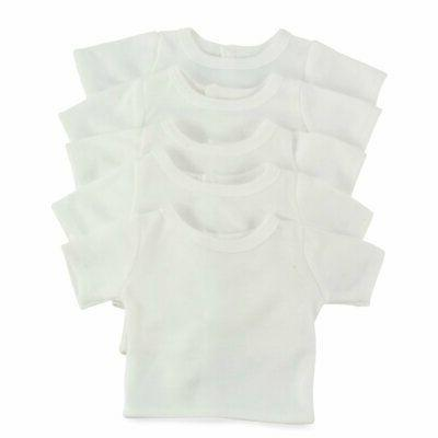 """Emily Doll 18 Fits 18"""" American Dolls Plain White 18"""" Outfit I"""