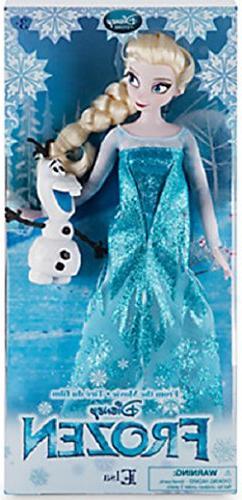 Frozen Classic Doll Ana Elsa Christophe Hans 4 body set * Di