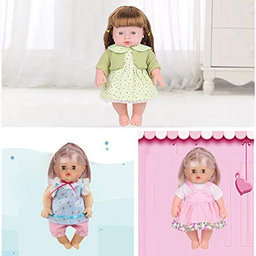 Huang Toys Set of for Inch Lovely Doll Clothes Costumes Dolly Cloth Handmade Christmas Birthday