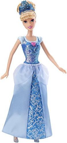 Mattel Disney Sparkle Princess Cinderella Doll