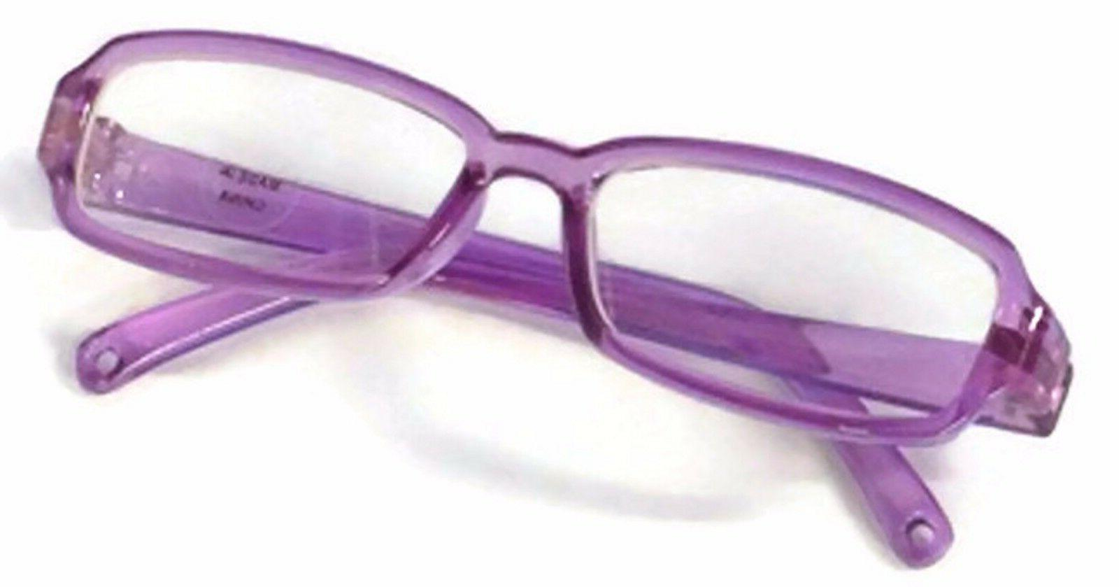 """Purple Rimmed Eye made 18"""" American Girl Doll Clothes Accessories"""