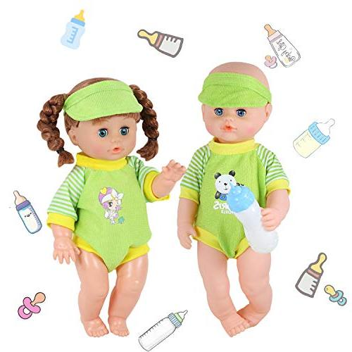 Set of 11-12-13-14 Alive Baby Doll Clothes Outfits with Birthday Wrap