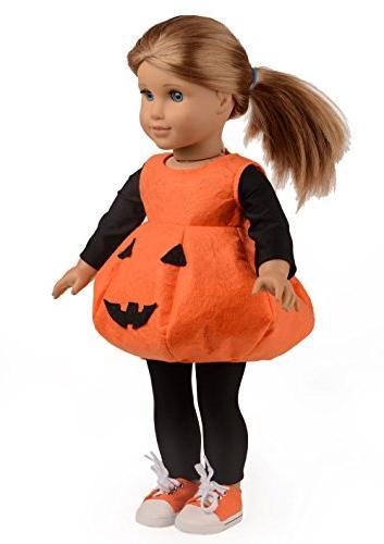 Sweet Clothes for Girl Pumpkin Dress