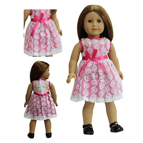 ZITA ELEMENT Dress Costumes Gown Clothes fit for American's