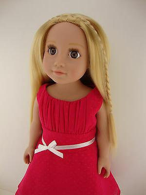 A Pink Dress for Inch Doll the Girl