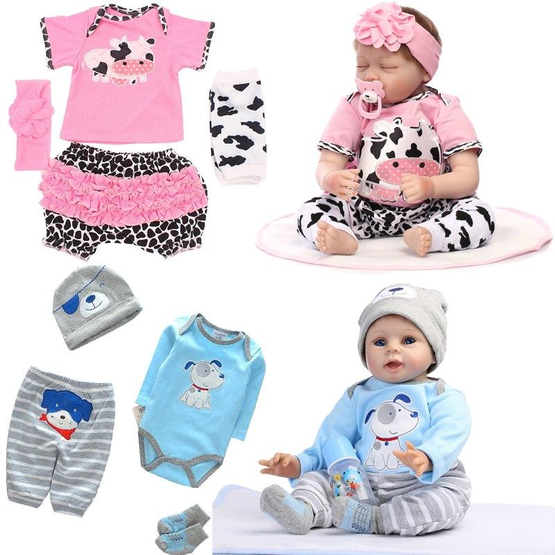 All For Baby Born Fit for <font><b>inches</b></font> 45-58cm High Quality Dress Reborn Baby <font><b>Dolls</b></font> Dress#E