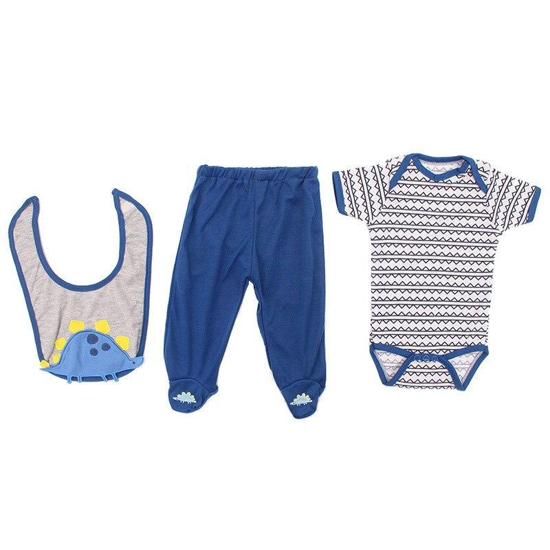 All Cotton <font><b>Clothes</b></font> Baby <font><b>Doll</b></font> Fit for <font><b>inches</b></font> 45-58cm Reborn Dress#E