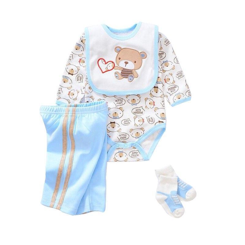 All Cotton <font><b>Clothes</b></font> Baby <font><b>Doll</b></font> Dress Fit 18-23 45-58cm Quality Reborn Baby <font><b>Clothes</b></font> Dress#E