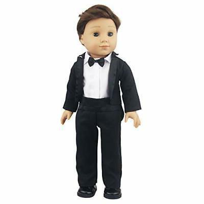 ZITA ELEMENT Inch Boy Suit Shoes - Tuxedo