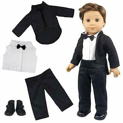 american 18 inch boy doll clothes suit