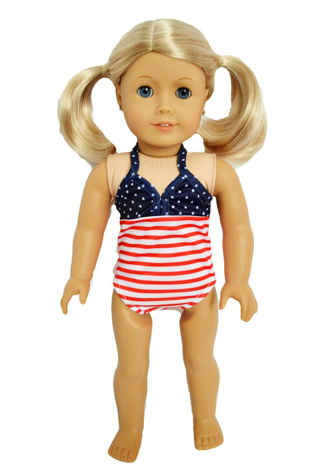 american doll swimsuit fits 18 inch american