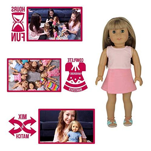PZAS Inch Doll Makeover, 10 American