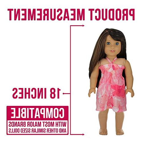 PZAS Toys Doll Makeover, Fits American Girl