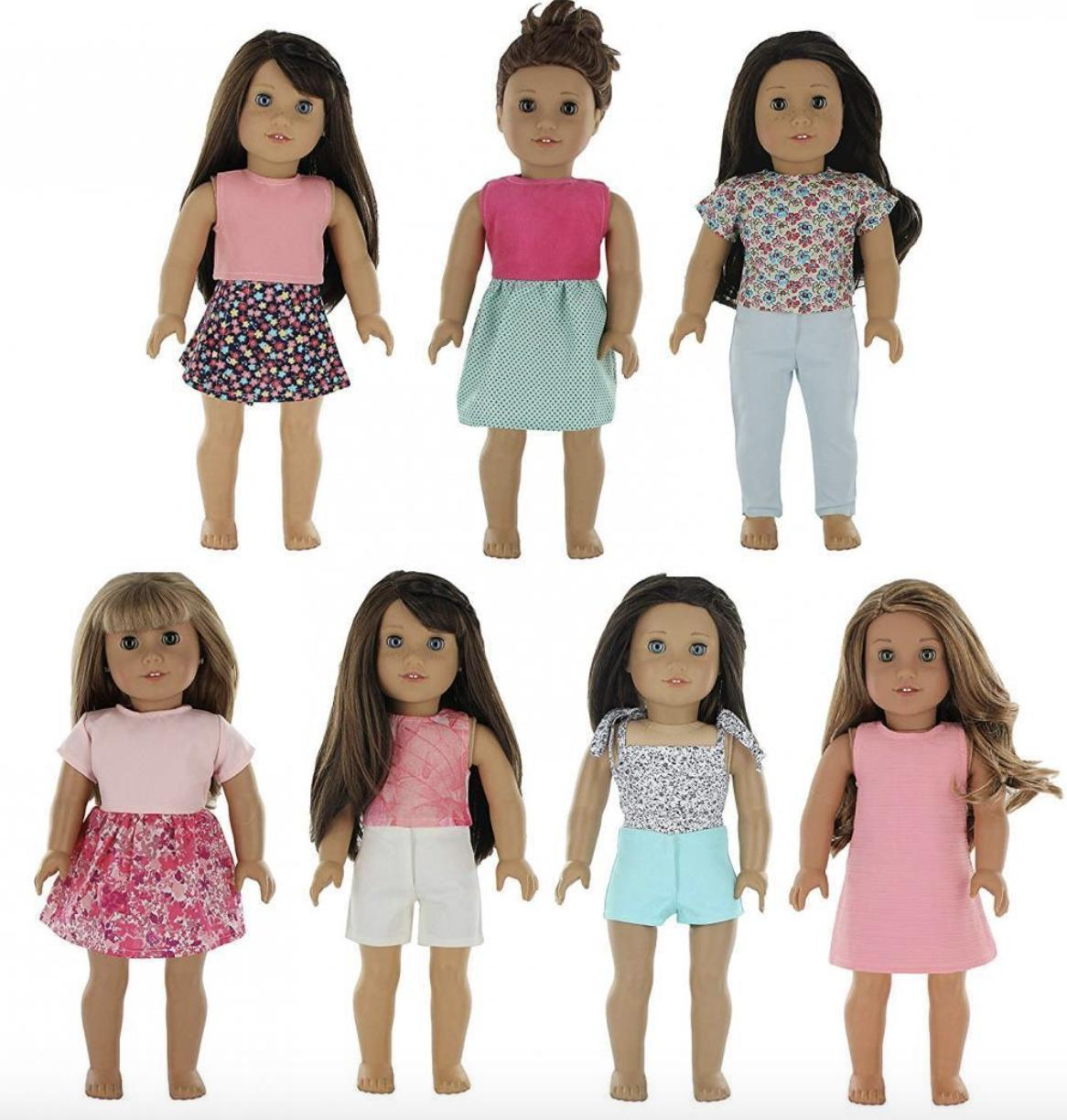 american girl doll clothes wardrobe 7 outfits