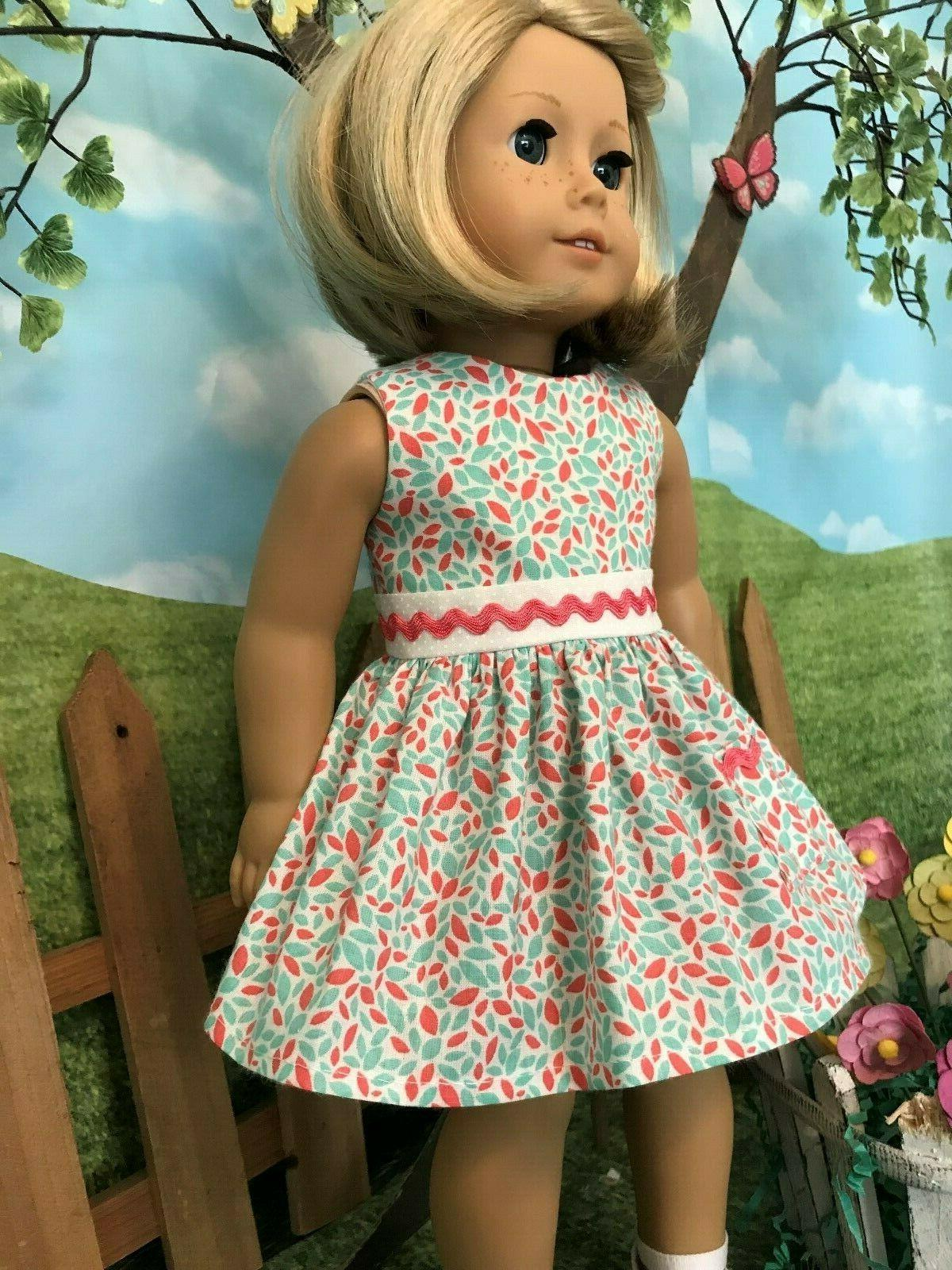 American spring/summer dress, doll clothes