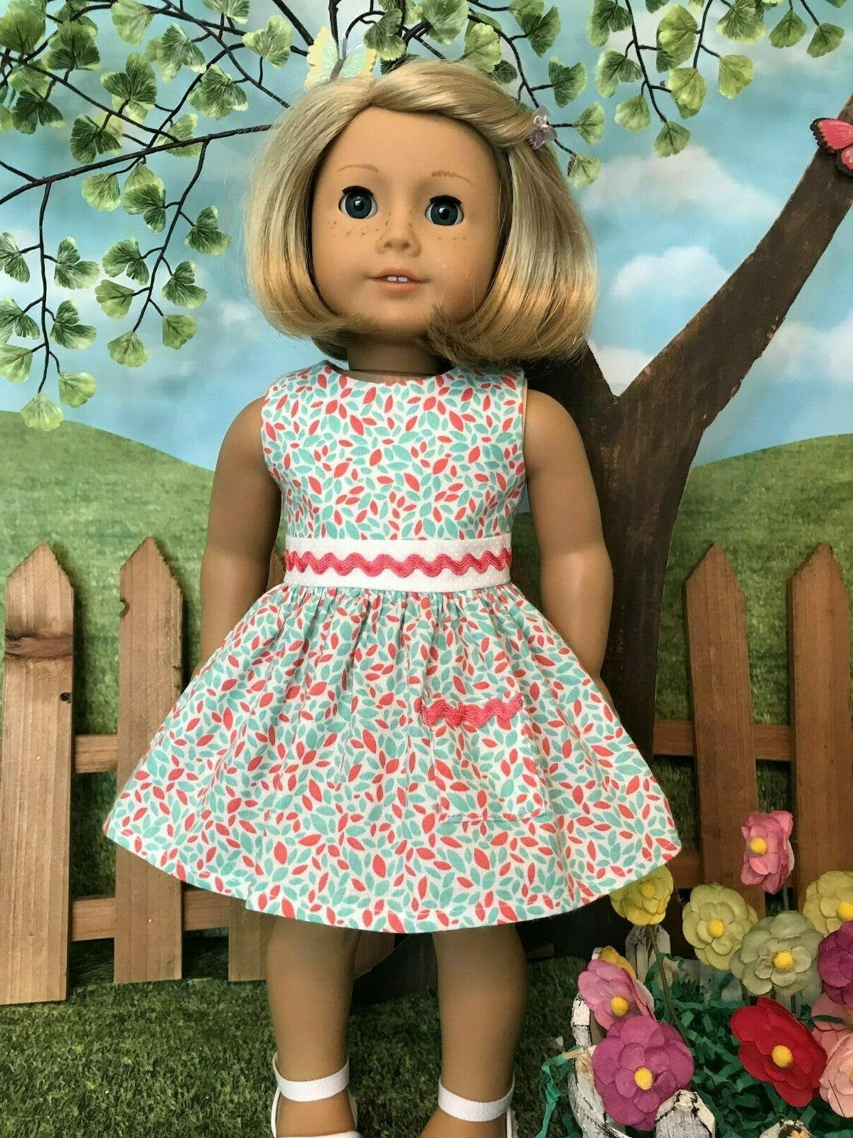 American Girl dress, 18 inch doll clothes