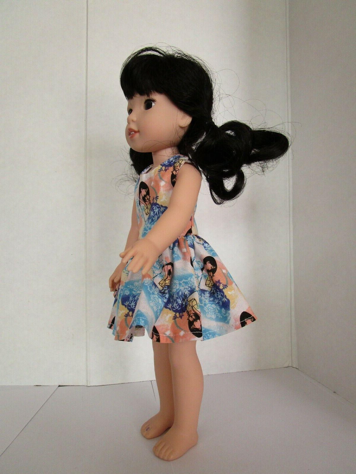 AMERICAN DOLL CLOTHES FOR GIRL INCH WELLIE WISHERS W8