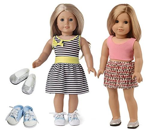 sweet dolly inch Doll Clothes Shoes Girl, Shoes