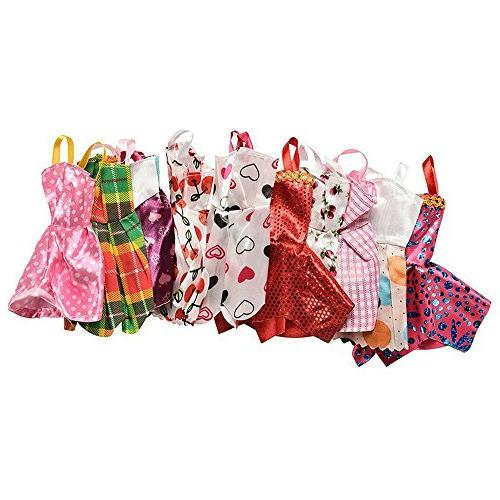 AMOFINY Dress Up Lot Doll Clothing
