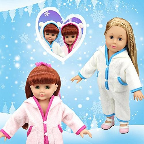 AMOFINY Cute Clothes Custom Pajamas Outfit For Inch