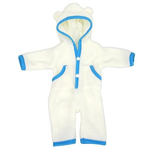 AMOFINY Cute Doll Clothes Pajamas Pajamas Outfit For Inch