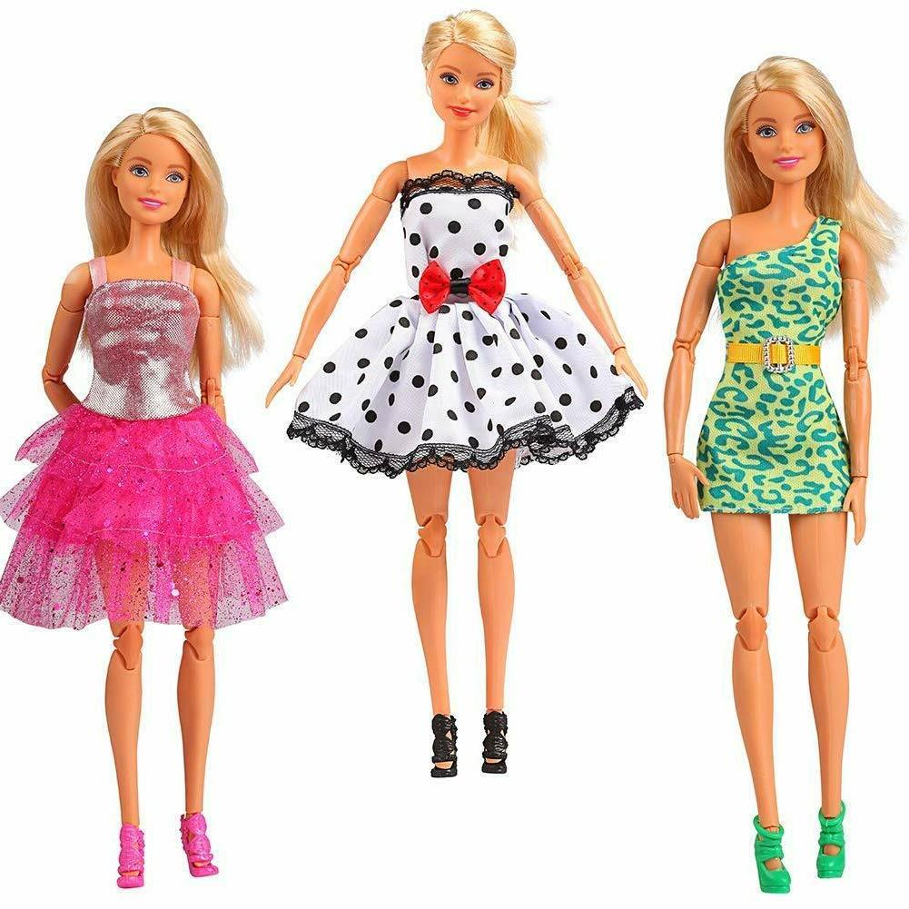 Ba-Girl Dolls Clothes Accessories Barbie Clothes Outfit Doll
