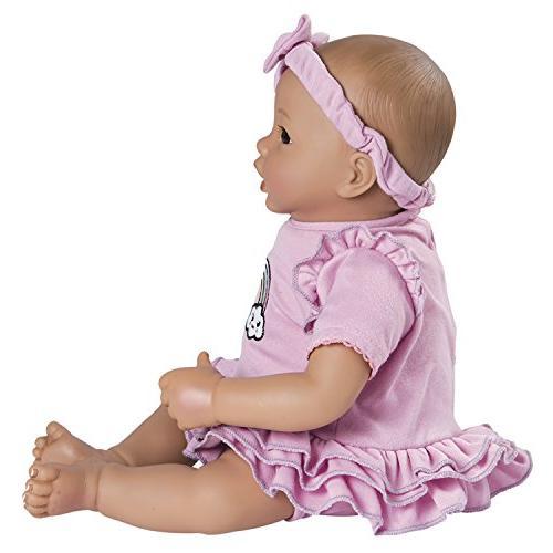 Adora Lavender Girl Play for Toddlers Includes Bottle & Blanket Soft Vinyl Toy