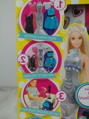 Dolls Bears Barbie Be A Fashion Designer Doll Dress Up Kit Other Contemp Barbie Dolls Themadrasflyingclub Org
