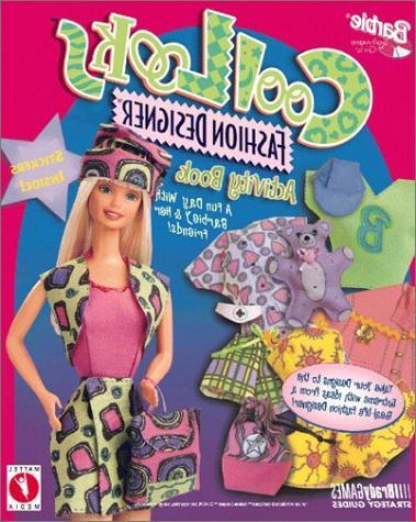 barbie cool looks fashion designer activity book