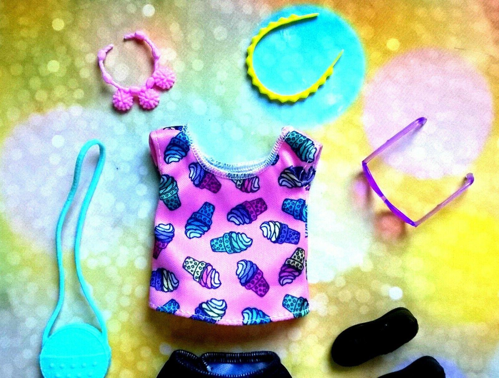 💛Barbie Skipper Doll Clothes, accessories