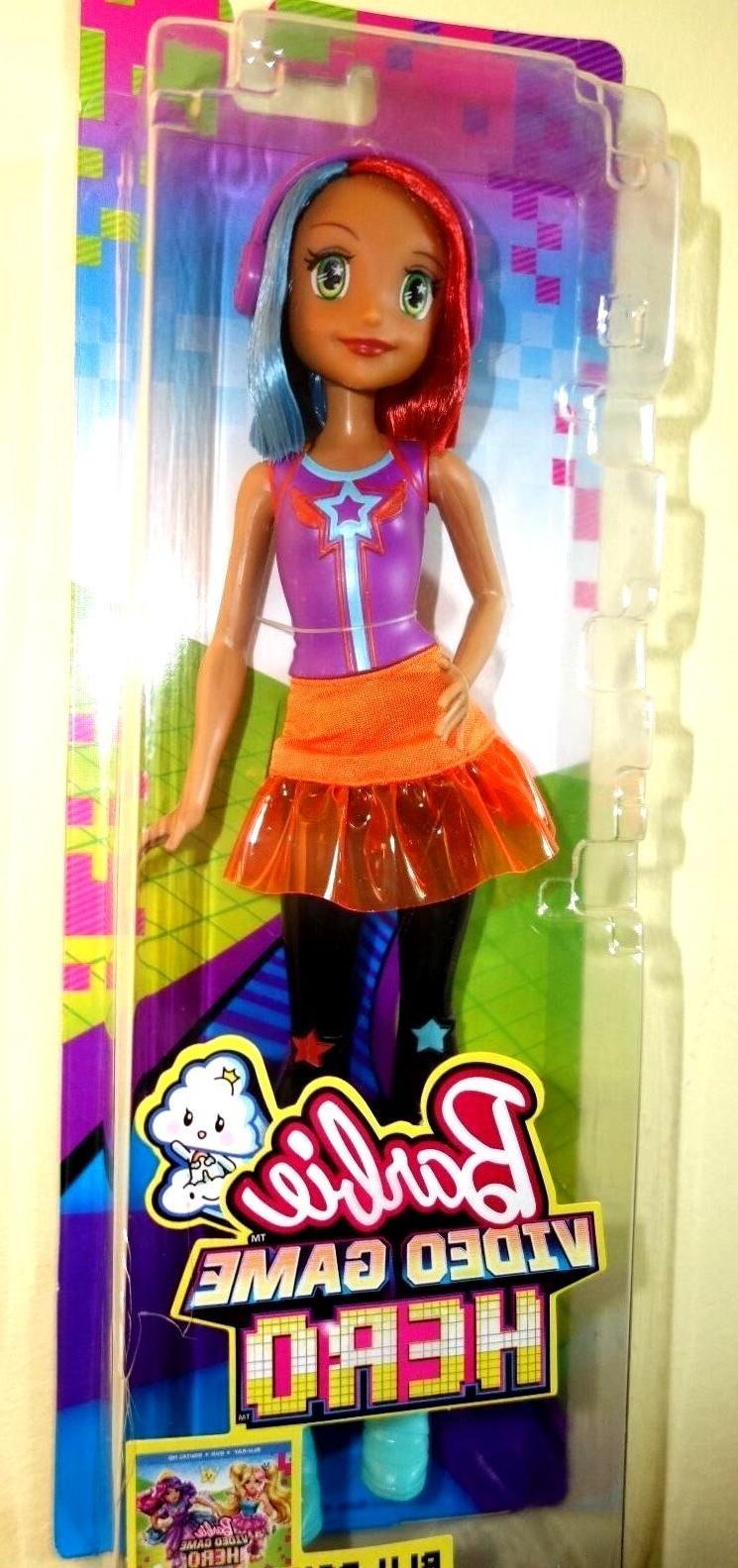 barbie video game hero multi color hair