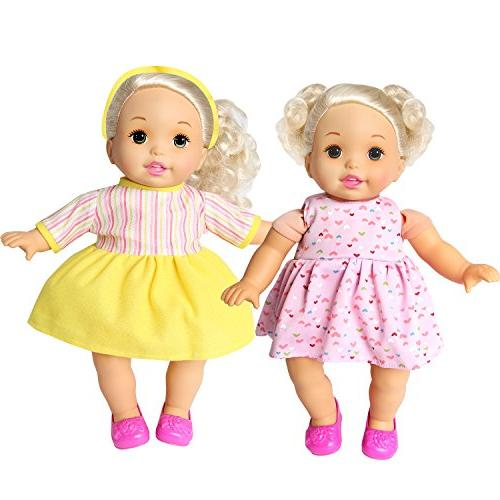 rainbow 6 Baby Alive Doll Clothes Dresses Skirts Outfits Daily Costumes Gown Fits 12'' 13'' 14'' 15'' Alive