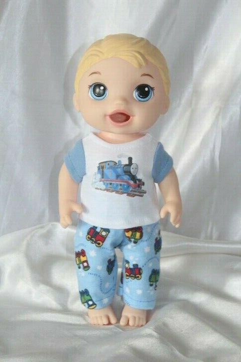 boy doll clothes fits 12 inch baby