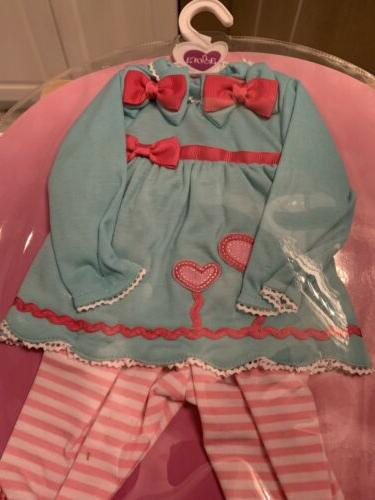 """Brand Time """"Blooming Hearts"""" 20"""" Clothes NEW"""