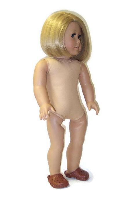 Brown Shoes 18 inch Doll