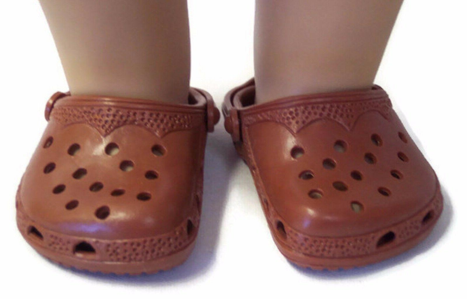 Brown Shoes fits 18 inch American