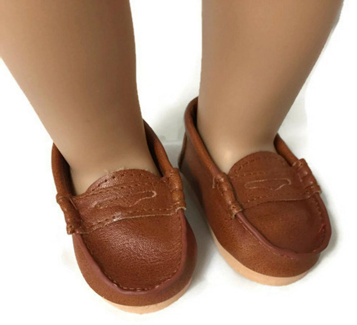 Brown Penny Loafer Boy made American