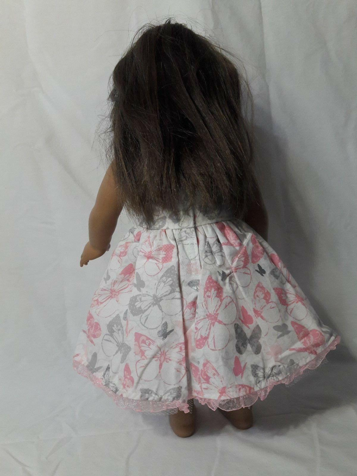 "Handmade Butterfly 18"" Girl Doll Clothes"