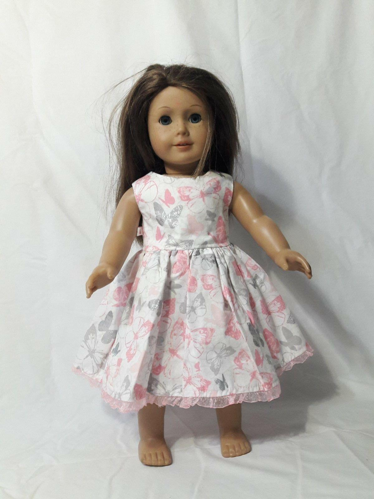 butterfly dress fits 18 american girl doll
