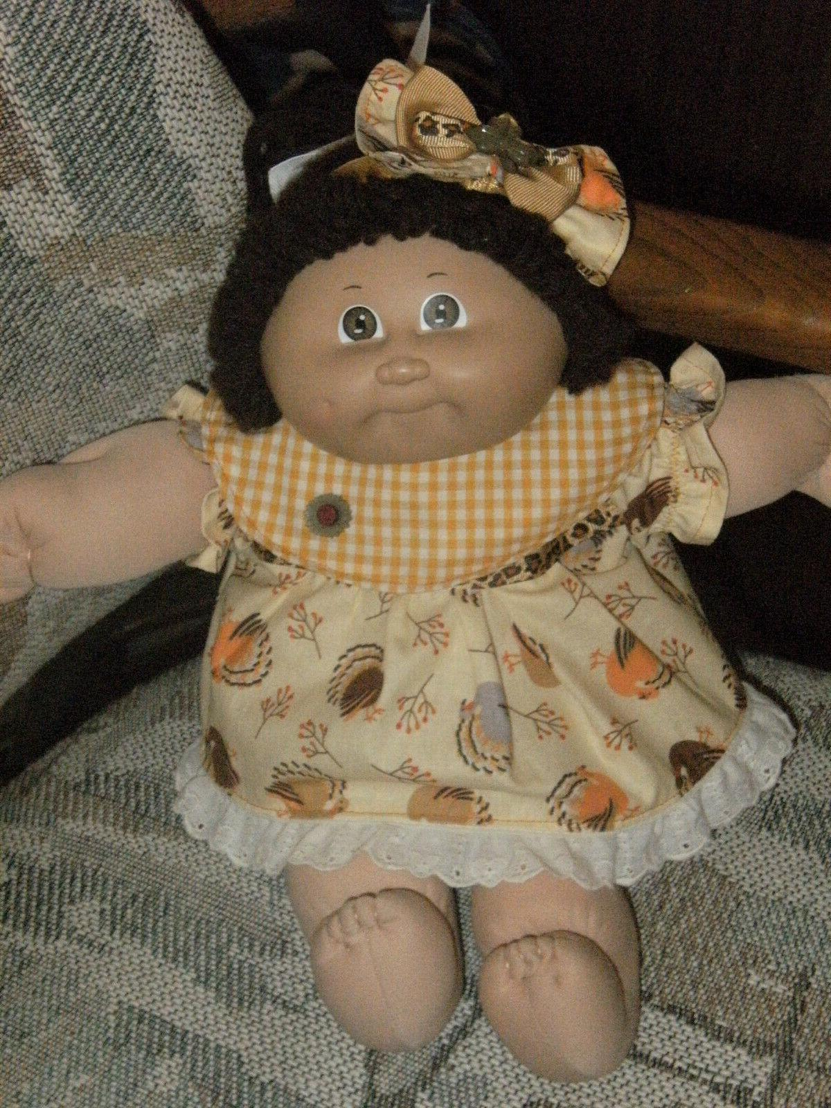 cabbage patch 16 doll clothes outfit thanksgiving
