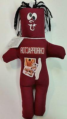 CHIROPRACTOR FRUSTRATION DOLL dammit Stress Relief dolls Occ
