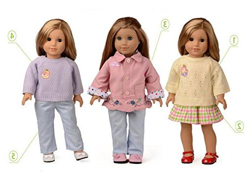 sweet 5PC 18 Inch American Doll
