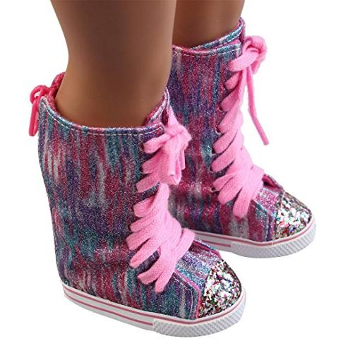 clearance glitter doll straps boots