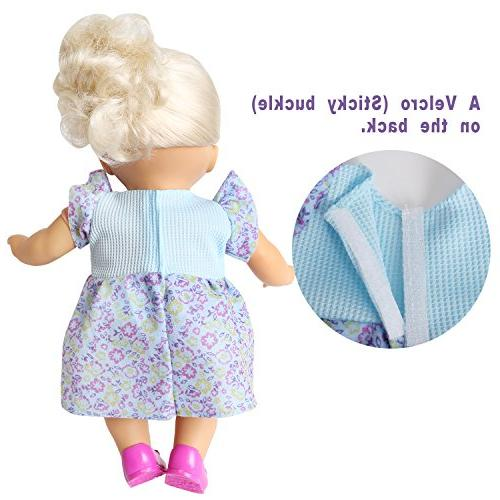 BOBO clothes 6 12-14-16 Alive Baby Doll Handmade Girl Birthday Gift