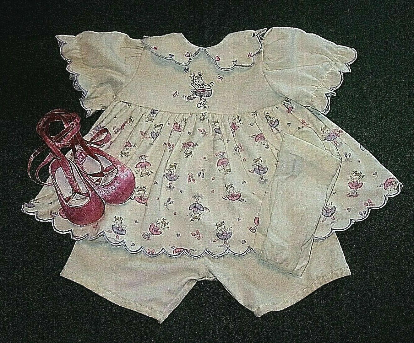 cream print dress set for big 22
