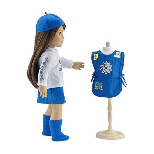 | Daisy Girl 5 Outfit, Tunic Patches! | Dolls Gift